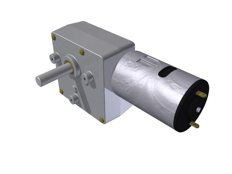 Micro Motoredutor com 1,2 RPM e Motor de 12vcc SF