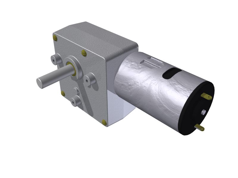 Micro Motoredutor com 3,1 RPM e Motor de 12vcc SF