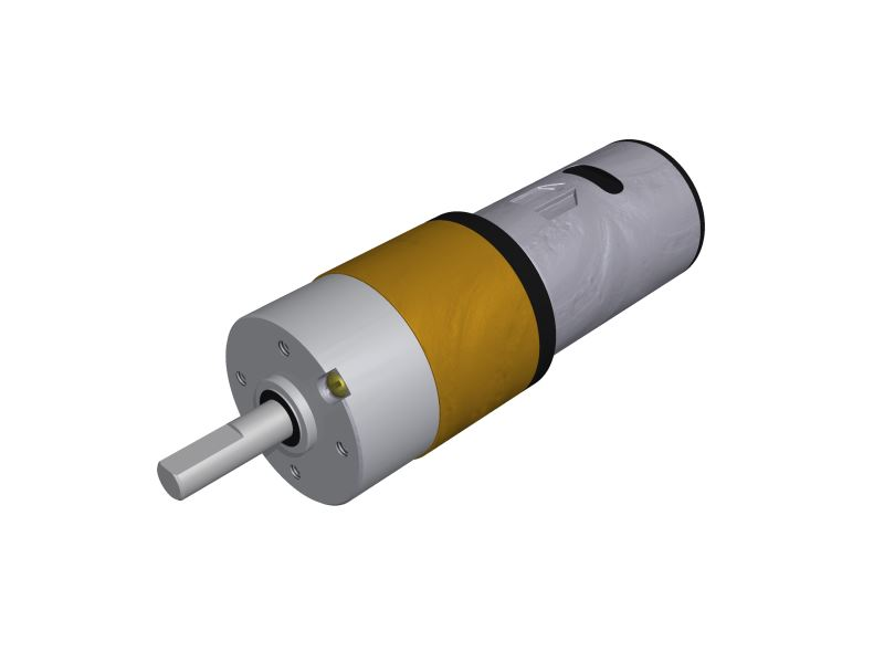 Micro Motoredutor com 93,3 RPM e Motor de 24vcc PL