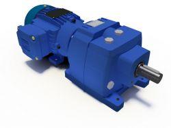 Motoredutor Coaxial Redução de 1:84 Com Motor de 0,5cv B3