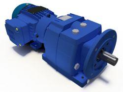 Motoredutor Coaxial Redução de 1:161 Com Motor de 0,33cv B5