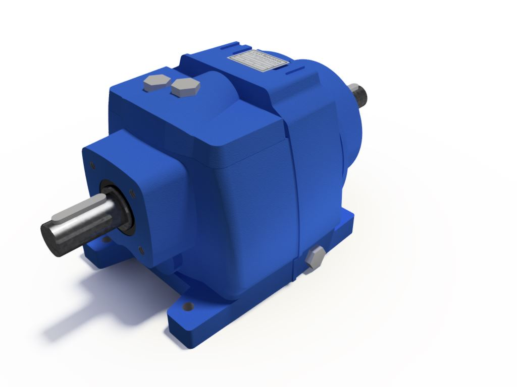 Redutor Coaxial Redução de 1:106 Para Motor de 2cv B3
