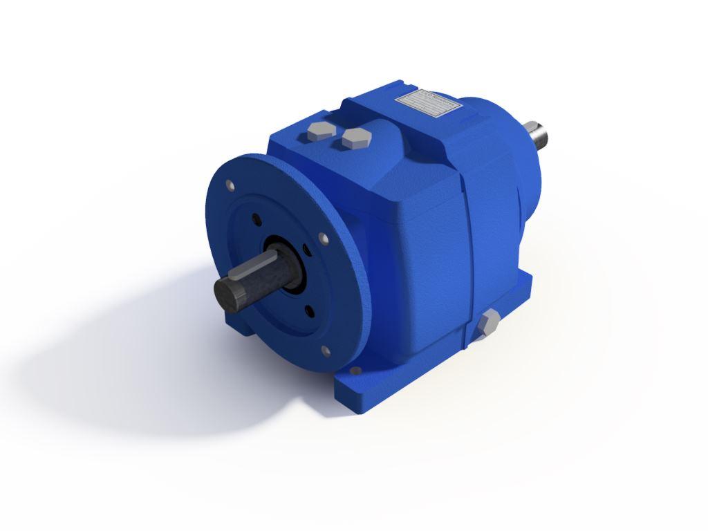Redutor Coaxial Redução de 1:168 Para Motor de 0,5cv B5