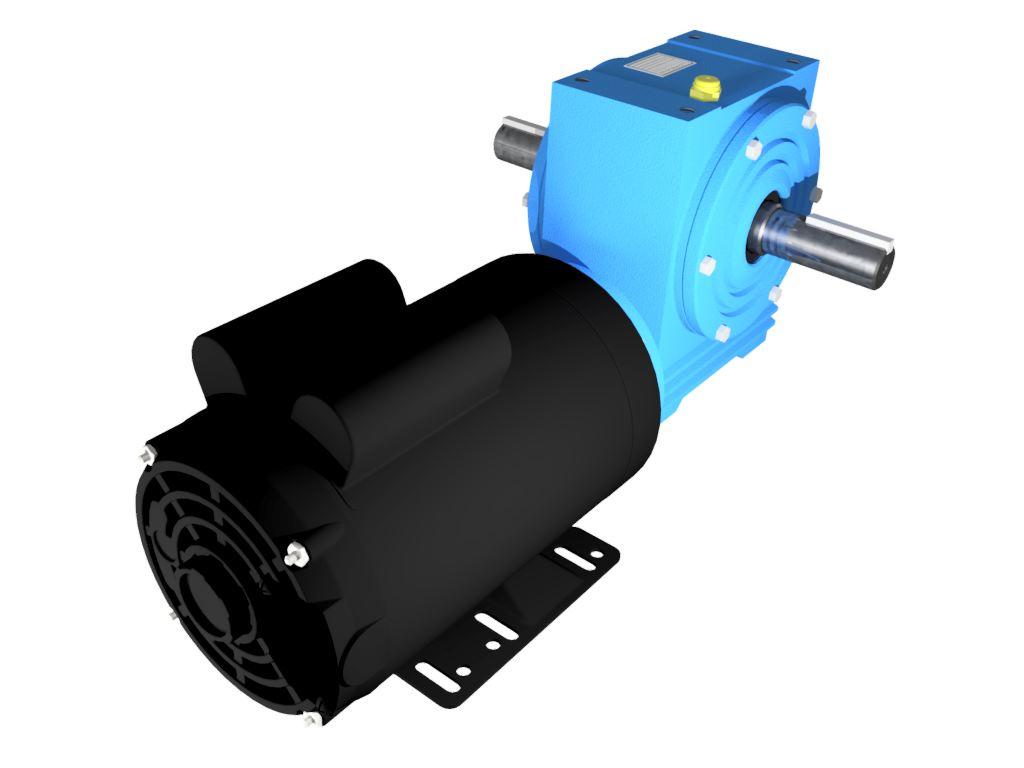 Motoredutor Redução de 1:100 com Motor Monofásico 2cv WD1