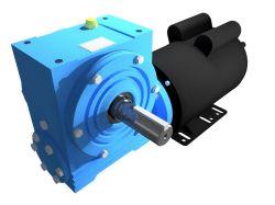 Motoredutor Redução de 1:100 com Motor Monofásico 1cv WN2