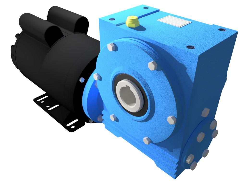 Motoredutor Redução de 1:100 com Motor Monofásico 2cv WV1