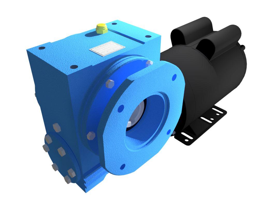 Motoredutor Redução de 1:100 com Motor Monofásico 1cv WV7