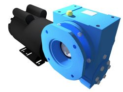 Motoredutor Redução de 1:100 com Motor Monofásico 3cv WV8