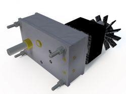 Micro Motoredutor com 2,4 RPM Motor 220v 50w  G