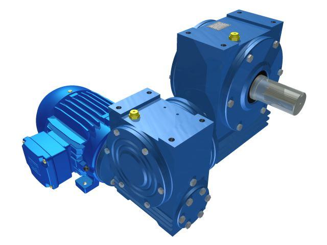 Motoredutor com 16,3rpm Motor de 0,25cv Weg Trifásico 1:105 N2N1