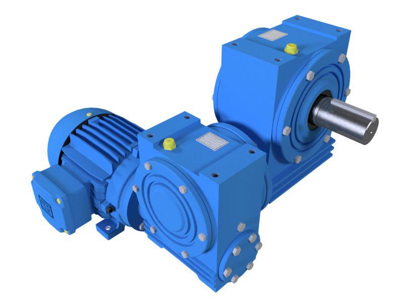 Motoredutor com 0,5rpm Motor de 0,25cv Weg Trifásico 1:3600 N2N1