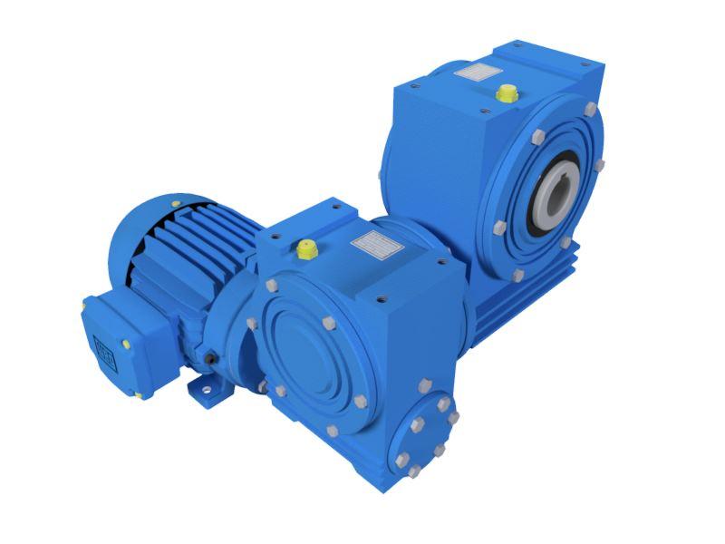 Motoredutor com 1,1rpm Motor de 0,25cv Weg Trifásico 1:1500 N2V1