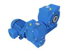 Motoredutor com 1,7rpm Motor de 0,33cv Weg Trifásico 1:1000 N2V1