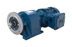 Motoredutor com motor de 0,25cv 129rpm Coaxial Weg Cestari WCG20 Trifásico G