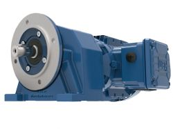 Motoredutor com motor de 0,75cv 98rpm Coaxial Weg Cestari WCG20 Trifásico G