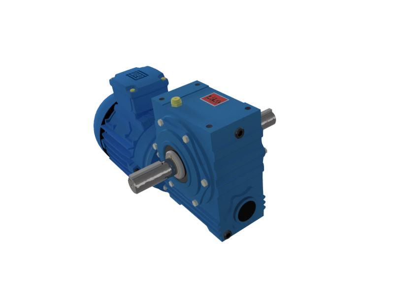 Motoredutor com motor de 1,5cv 90rpm Magma Weg Cestari Trifásico D0