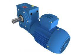 Motoredutor com motor de 0,75cv 58rpm Magma Weg Cestari Trifásico E0