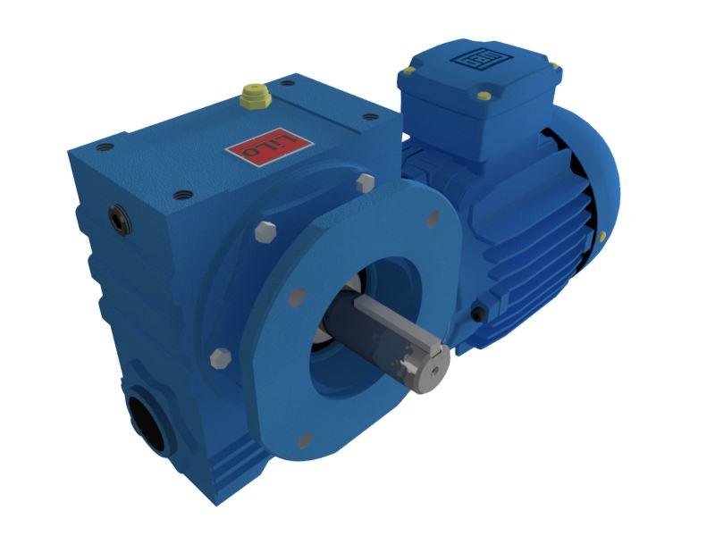 Motoredutor com motor de 0,75cv 58rpm Magma Weg Cestari Trifásico E4