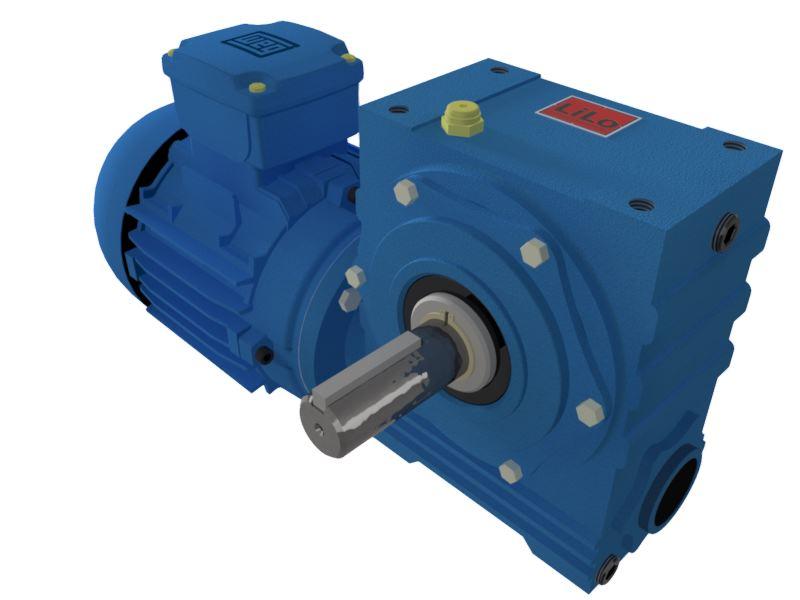 Motoredutor com motor de 1,5cv 71rpm Magma Weg Cestari Trifásico N0