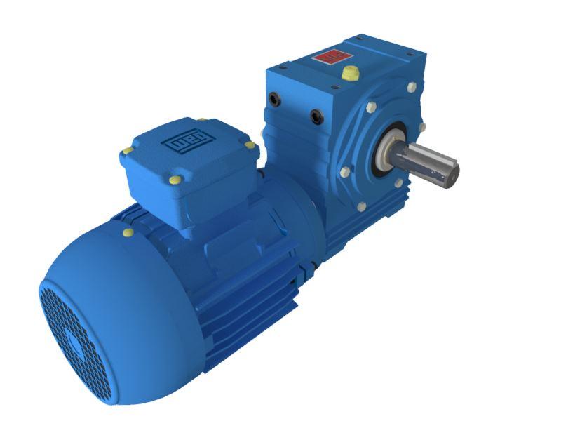 Motoredutor com motor de 0,25cv 44rpm Magma Weg Cestari Trifásico N0