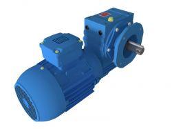 Motoredutor com motor de 0,5cv 117rpm Magma Weg Cestari Trifásico N3