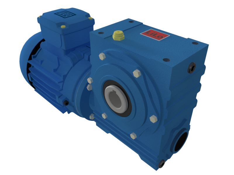 Motoredutor com motor de 0,5cv 90rpm Magma Weg Cestari Trifásico V0