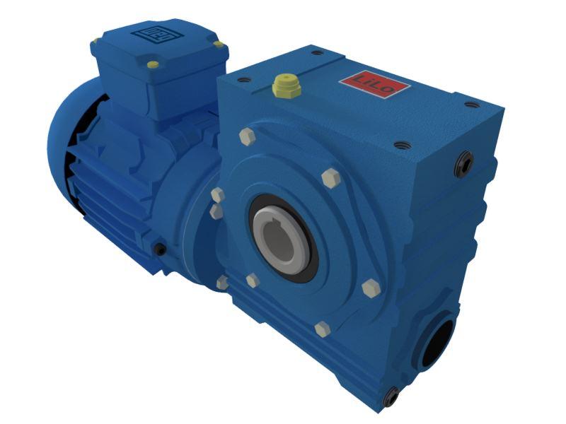 Motoredutor com motor de 0,5cv 117rpm Magma Weg Cestari Trifásico V0