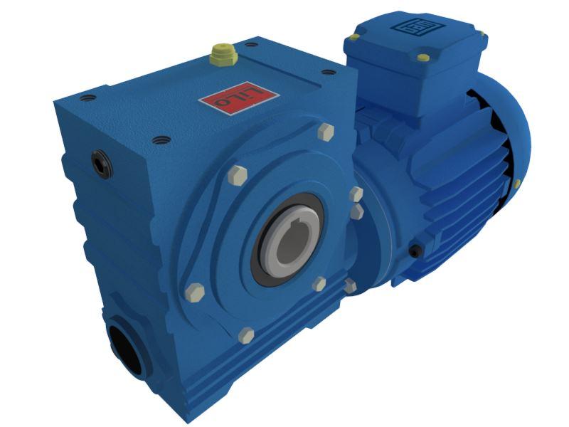 Motoredutor com motor de 0,25cv 58rpm Magma Weg Cestari Trifásico V0