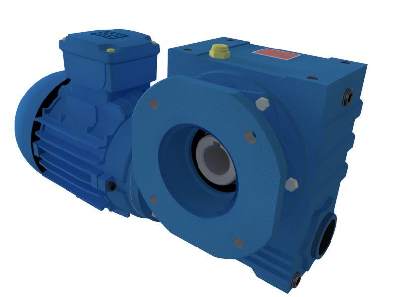 Motoredutor com motor de 0,25cv 44rpm Magma Weg Cestari Trifásico V3