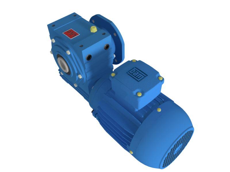 Motoredutor com motor de 0,25cv 58rpm Magma Weg Cestari Trifásico V3