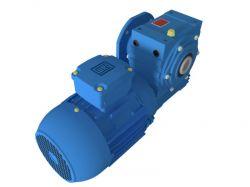Motoredutor com motor de 0,75cv 44rpm Magma Weg Cestari Trifásico V4
