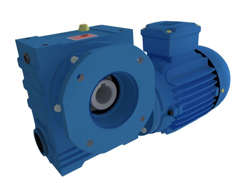 Motoredutor com motor de 0,75cv 58rpm Magma Weg Cestari Trifásico V4