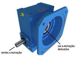 Redutor de Velocidade 1:19,5 para motor de 0,75cv Magma Weg Cestari V3