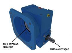 Redutor de Velocidade 1:25 para motor de 0,25cv Magma Weg Cestari V4