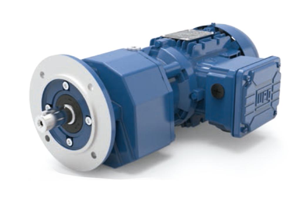 Motoredutor com motor de 4cv 7rpm Coaxial Weg Cestari WCG20 Trifásico F