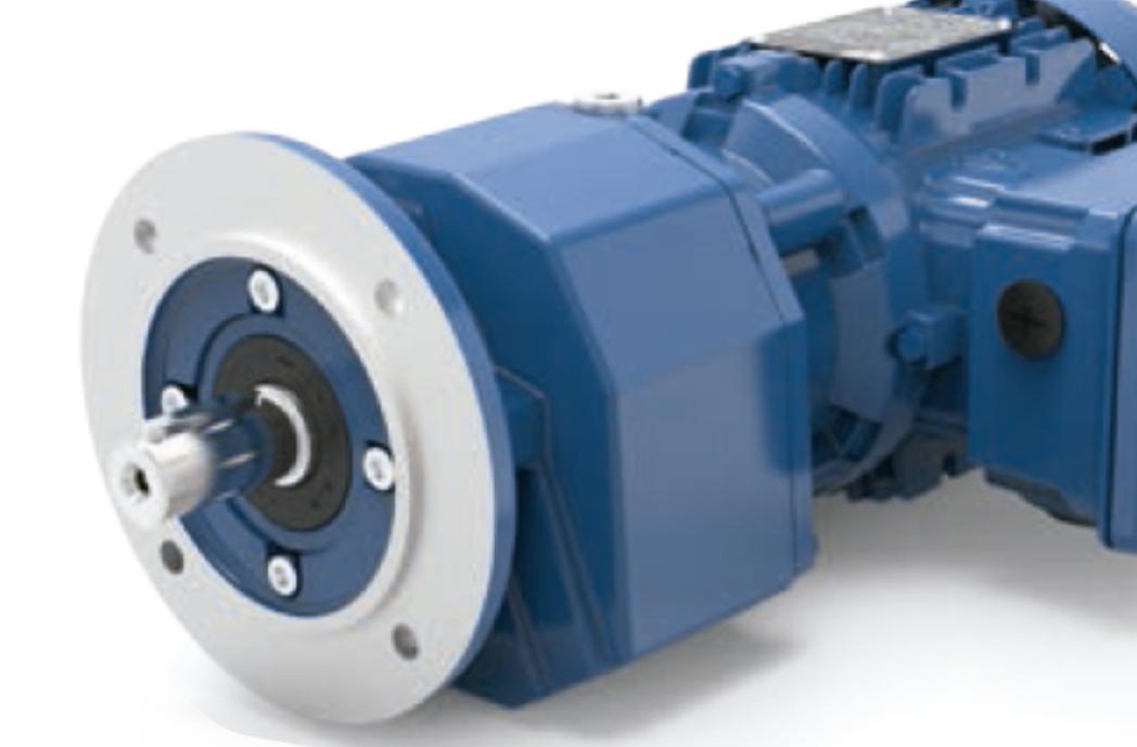 Motoredutor com motor de 12,5cv 60rpm Coaxial Weg Cestari WCG20 Trifásico F