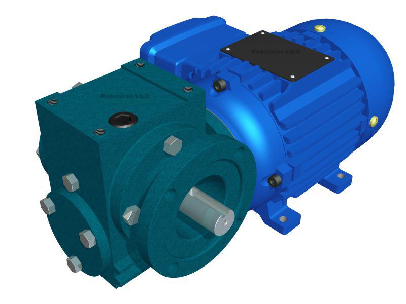 Motoredutor Redução de 1:25 com Motor de 0,33cv 4Polos WN15