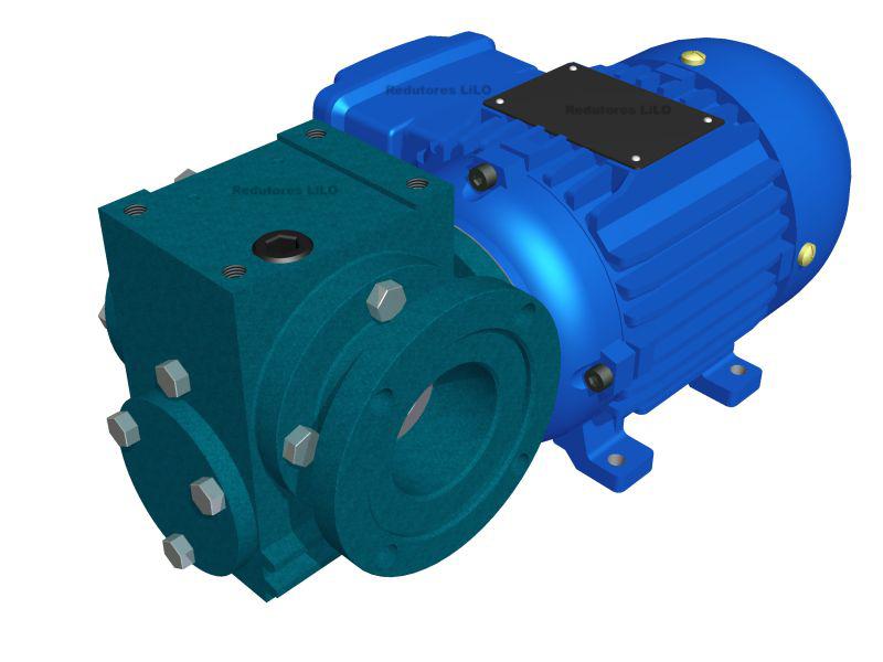 Motoredutor Redução de 1:60 com Motor de 0,33cv 4Polos WV7