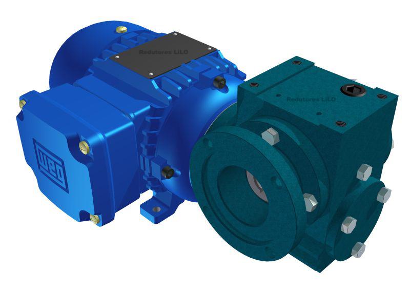 Motoredutor Redução de 1:10,5 com Motor de 0,33cv 4Polos WV8