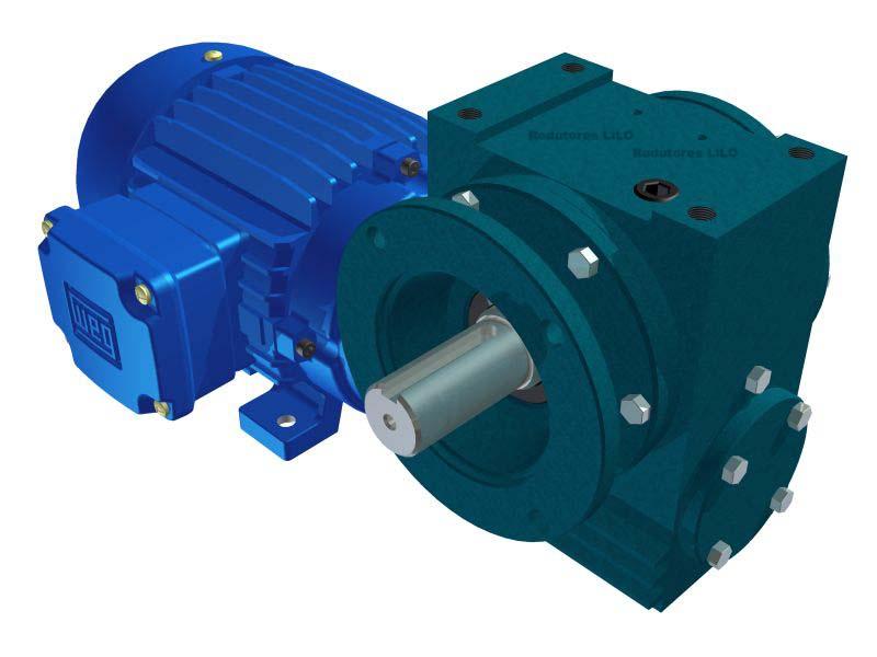 Motoredutor Redução de 1:38 com Motor de 0,5cv 4Polos WN14