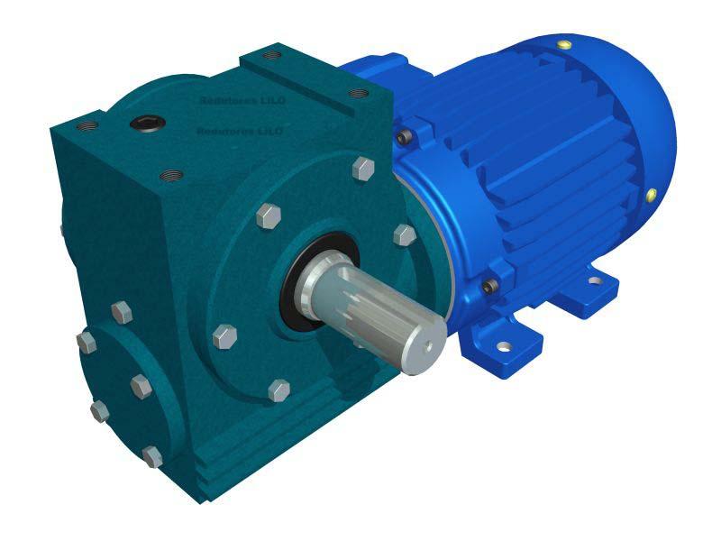 Motoredutor Redução de 1:24 com Motor de 3cv 4Polos WN2
