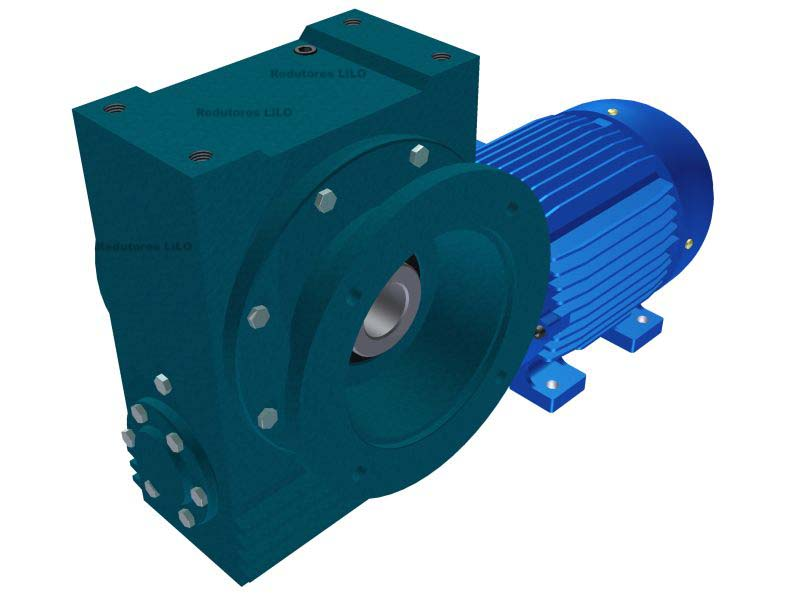 Motoredutor Redução de 1:15 com Motor de 5cv 4Polos WV7