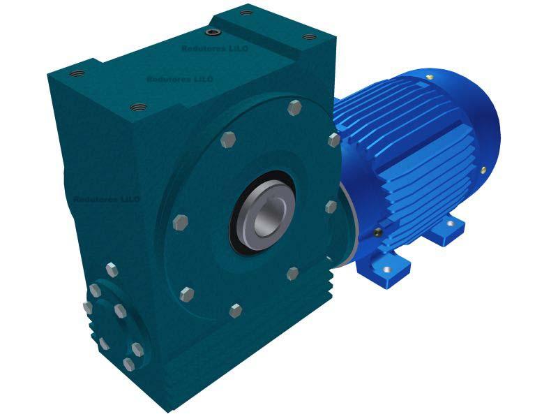 Motoredutor Redução de 1:60 com Motor de 6cv 4Polos WV1