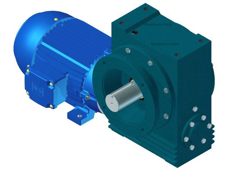 Motoredutor Redução de 1:60 com Motor de 7,5cv 4Polos WN14