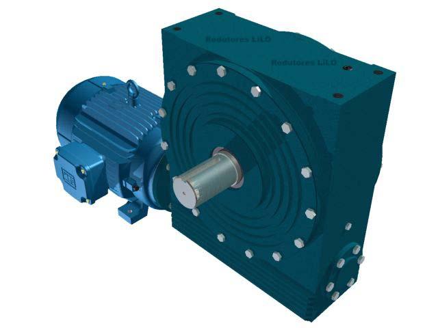 Motoredutor Redução de 1:40 com Motor de 12,5cv 4Polos WN1