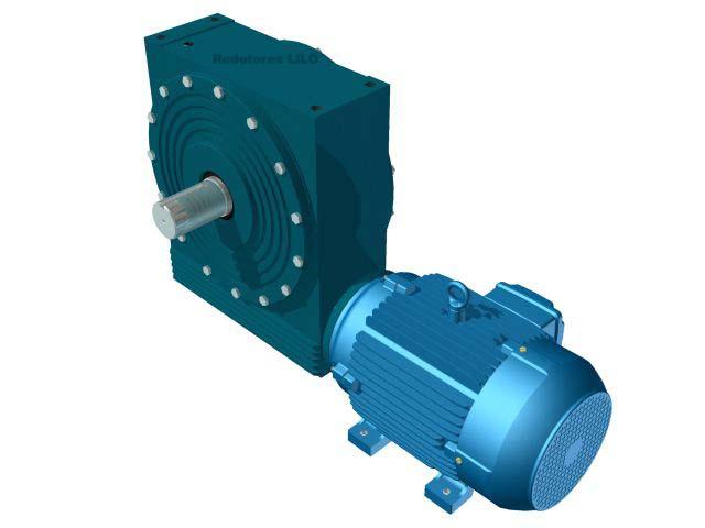 Motoredutor Redução de 1:10 com Motor de 15cv 4Polos WN2