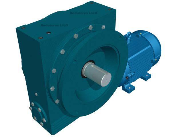 Motoredutor Redução de 1:10 com Motor de 15cv 4Polos WN15