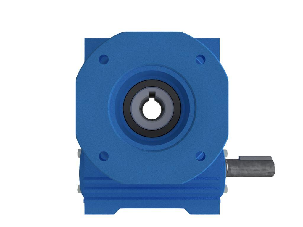 Redutor de Velocidade Tamanho ERV-110 Modelo Coroa e Rosca Sem Fim V7