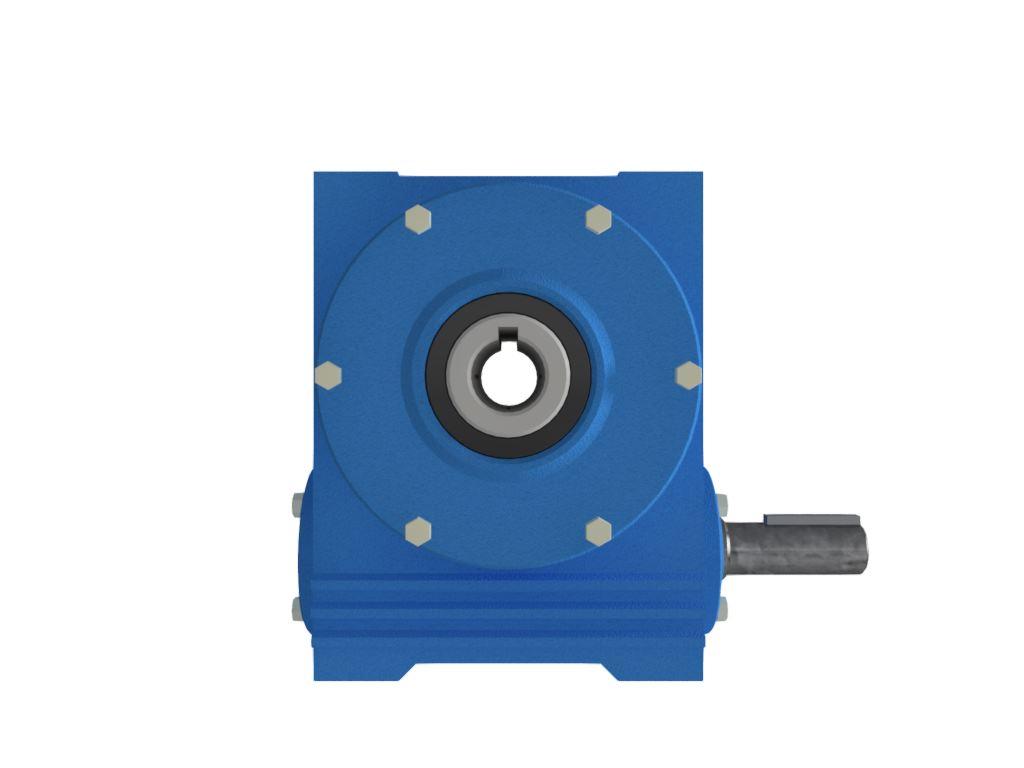 Redutor de Velocidade Tamanho ERV-075 Modelo Coroa e Rosca Sem Fim V1