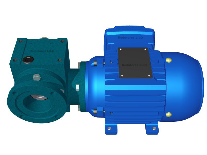 Motoredutor Redução de 1:80 com Motor de 0,33cv 4Polos WV7